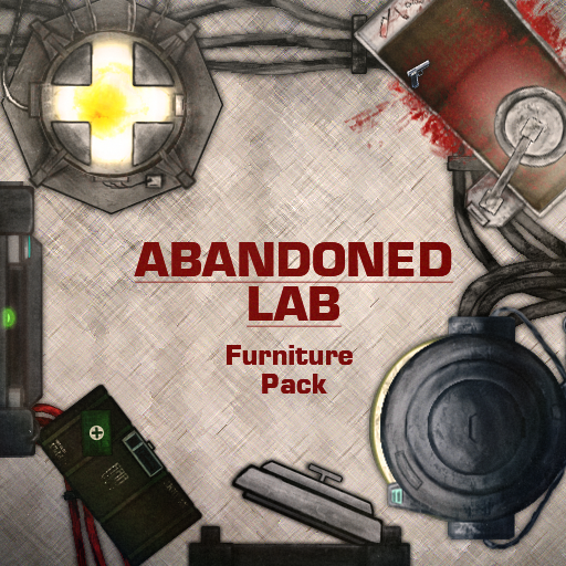Abandoned Lab Furniture Pack