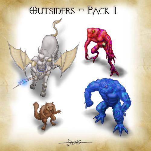 Outsiders - Pack 1
