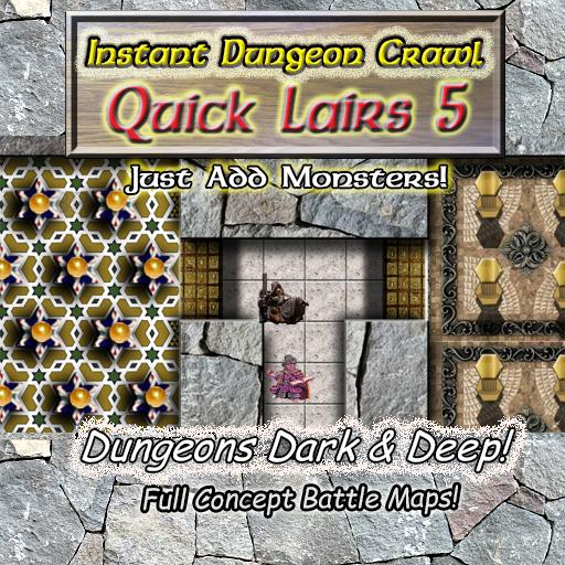 Instant Dungeon Crawl: Quick Lairs 5