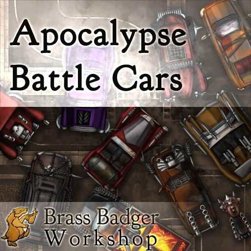 Apocalypse Battle Cars