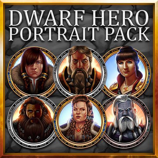 Dwarf Hero Portrait Pack