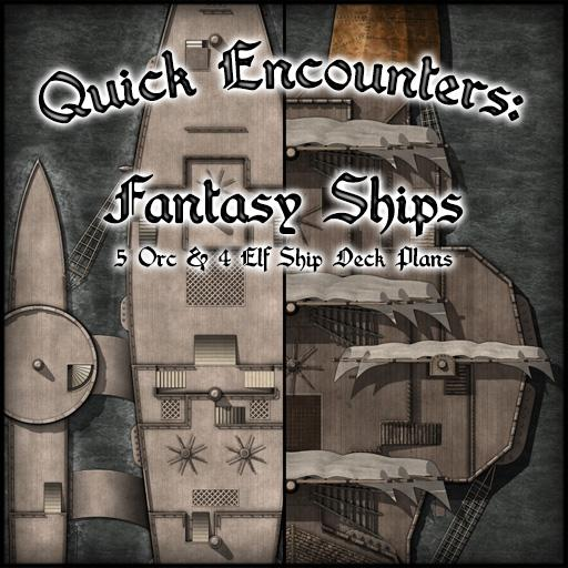 Quick Encounters: Fantasy Ships