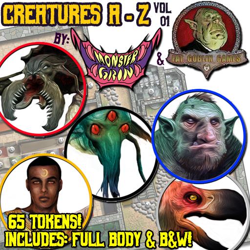 Creatures A-Z, Vol. 1