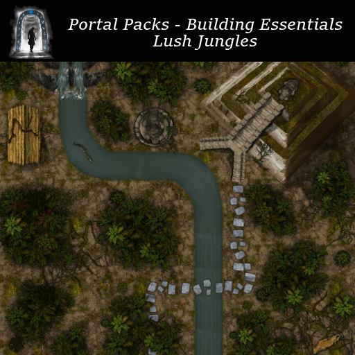 Portal Packs - Building Essentials - Lush Jungles