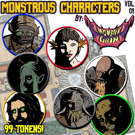 Monstrous Characters Vol. 1