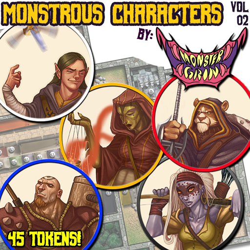 Monstrous Characters, Vol. 2