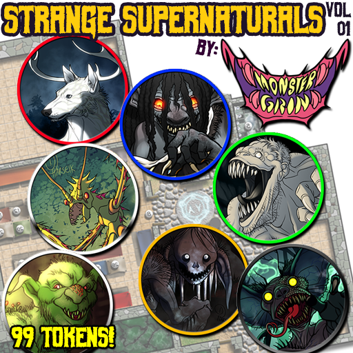 Strange Supernaturals Vol. 1