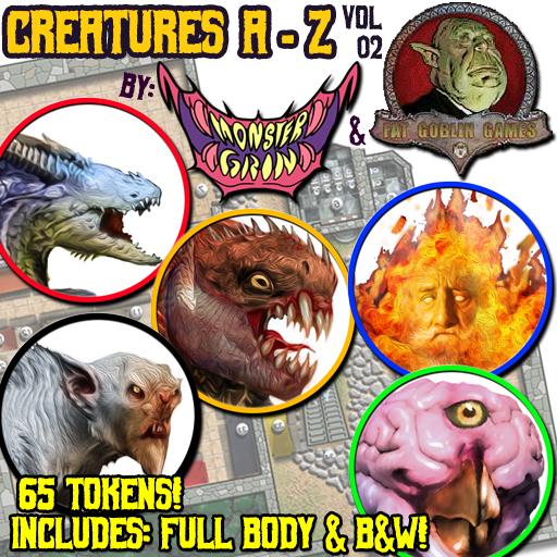 Creatures A-Z, Vol. 2