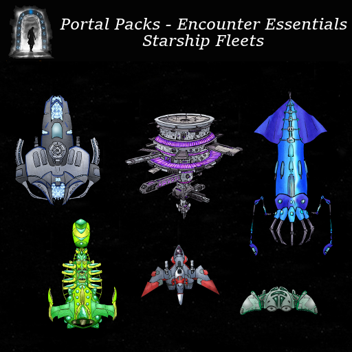 Portal Packs - Encounter Essentials - Starship Fleets