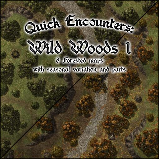 Quick encounters: Wild Woods 1