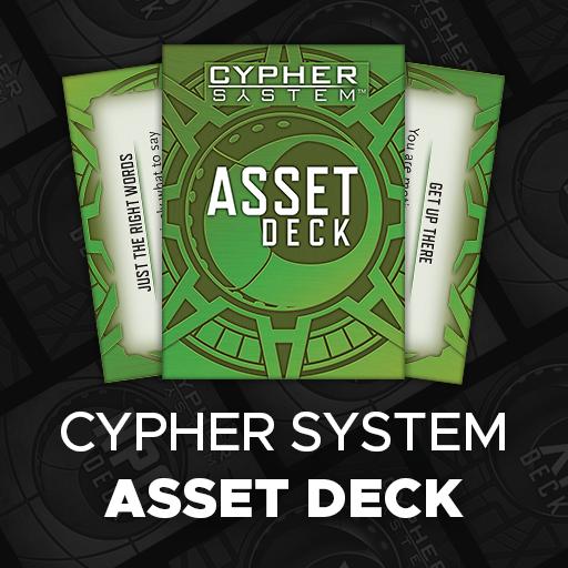 Cypher System Asset Deck