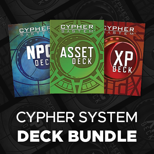 Cypher System Deck Bundle