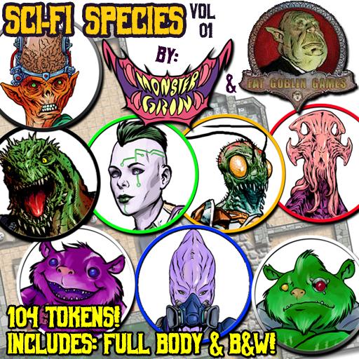 Sci-fi Species, Vol. 1
