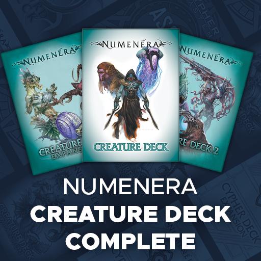 Numenera Creature Deck Complete