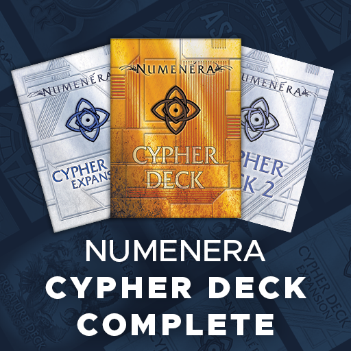 Numenera Cypher Deck Complete
