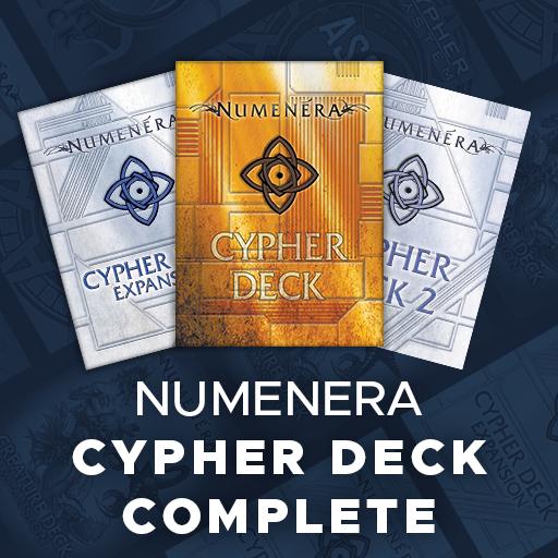 Numenera Cypher Deck Complete