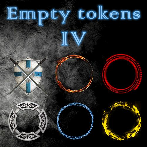 Empty Tokens Pack 4