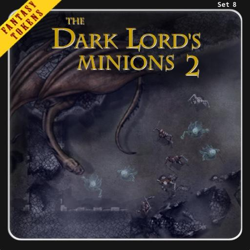 Fantasy Tokens Set 8, The Dark Lord's Minions 2