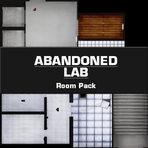 Abandoned Lab Room Pack