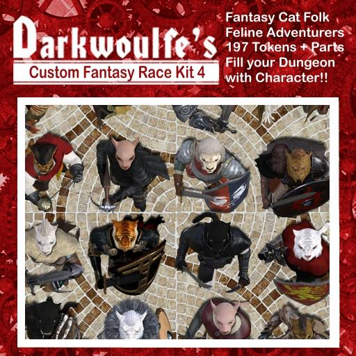 Fantasy Cat Folk