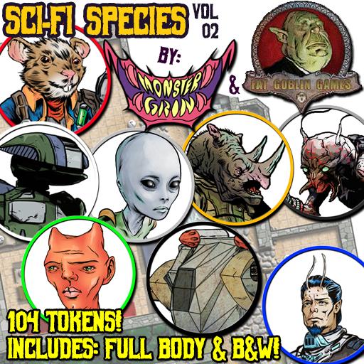 Sci-fi Species, Vol. 2
