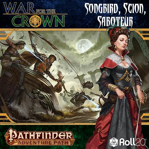 Songbird, Scion, Saboteur (War for the Crown 2 of 6)