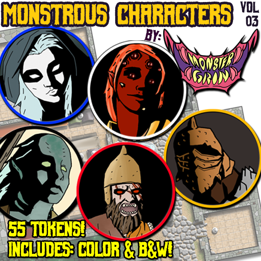 Monstrous Characters, Vol. 3
