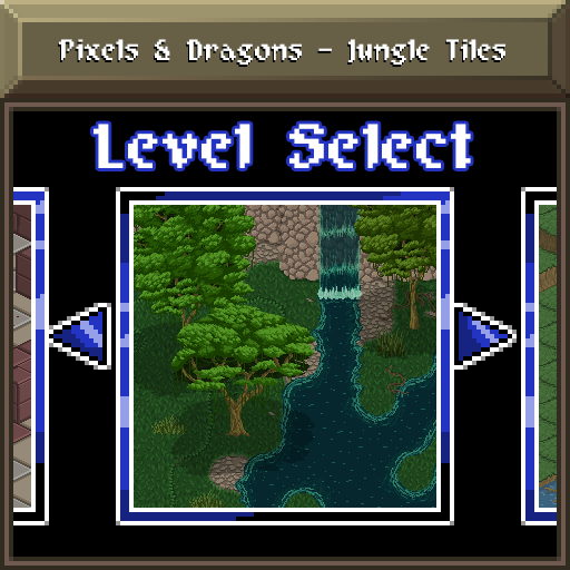 Pixels and Dragons - Jungle Tiles
