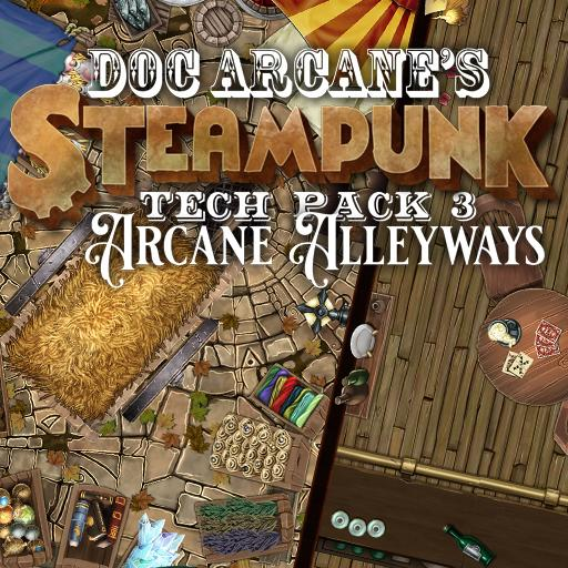 Steampunk Tech Pack 3