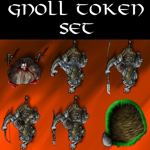 Gnoll Token Set