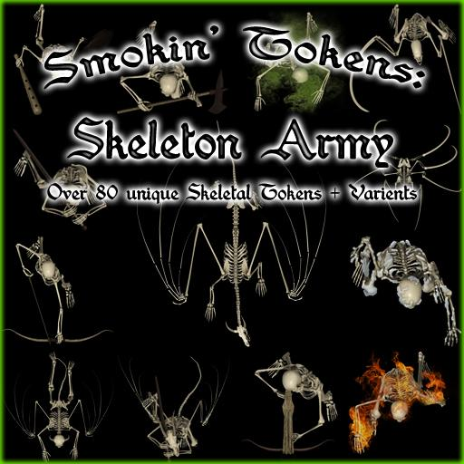 Smokin' Tokens: Skeleton Army