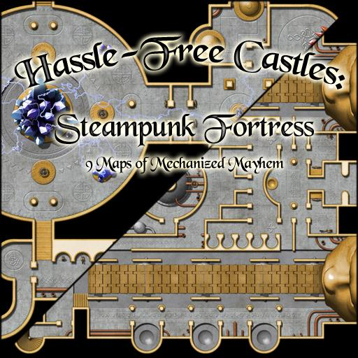 Hassle-Free Castles: Steampunk Fortress