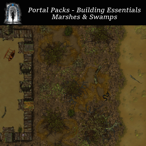 Portal Packs - Building Essentials - Marshes & Swamps