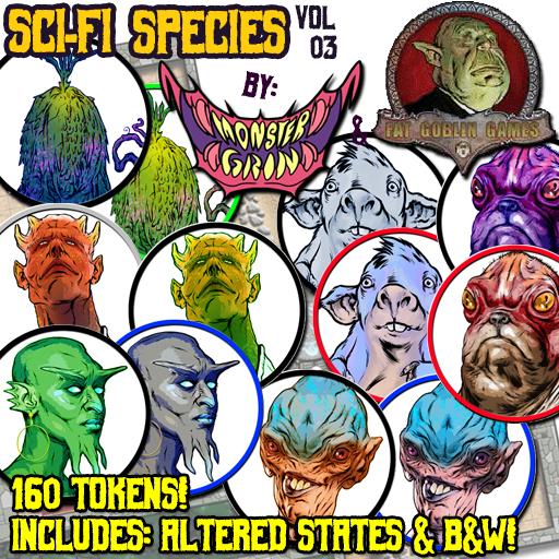 Sci-Fi Species, Vol. 3
