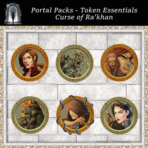 Portal Packs - Token Essentials - Curse of Ra'khan