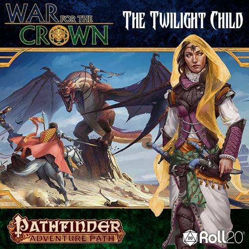 The Twilight Child (War for the Crown 3)