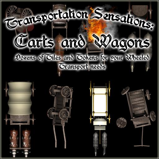 Transporation Sensations: Carts and Wagons