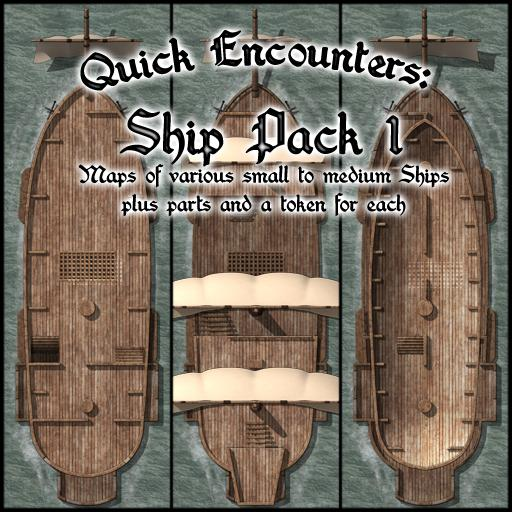 Quick Encounters: Ships Pack 1
