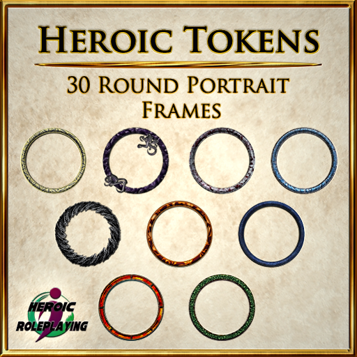 Heroic Tokens Pack