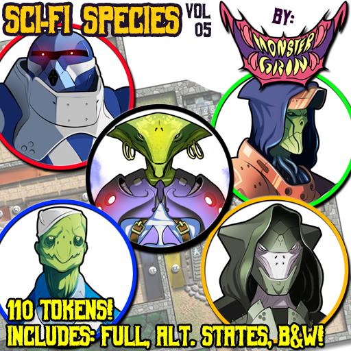 Sci-fi Species, Vol. 5