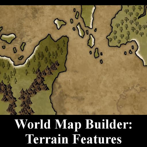 World Map Builder: Terrain Features