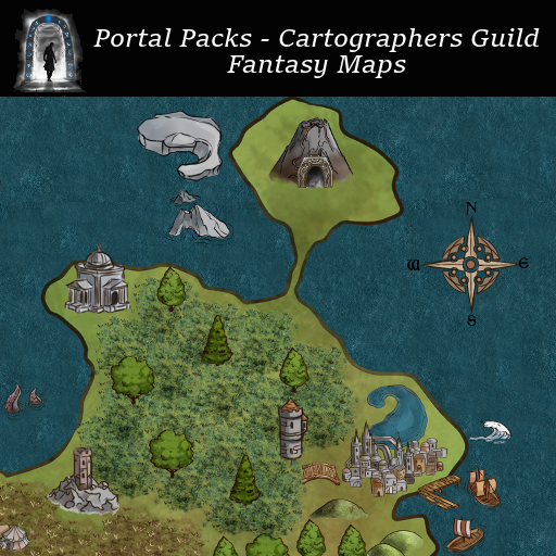 Portal Packs - Cartographers Guild - Fantasy Maps