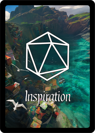 Inspiration Cards Roll20 Marketplace Digital Goods For