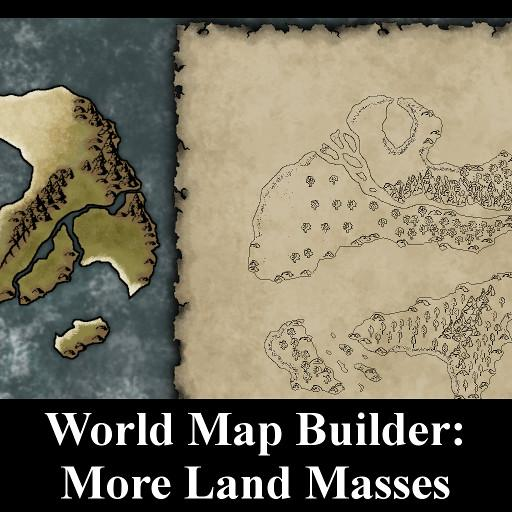 World Map Builder: More Land Masses