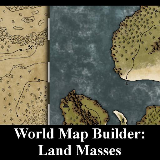 World Map Builder: Land Masses