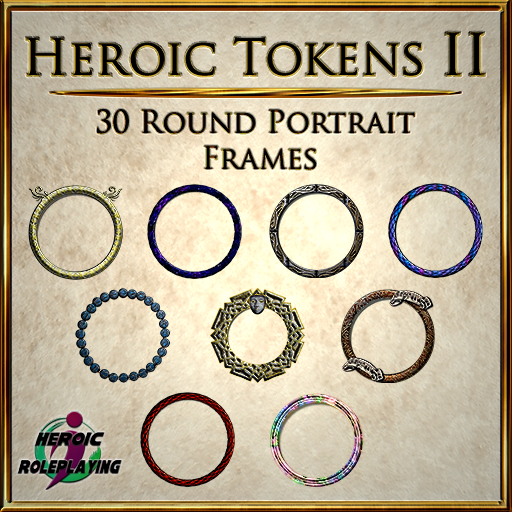 Heroic Tokens Pack 2