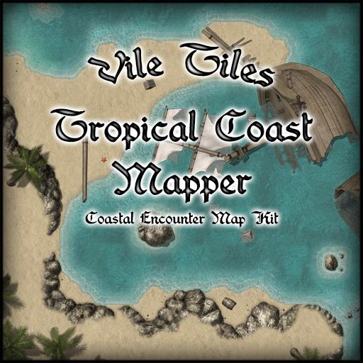 Vile Tiles Tropical Coast Mapper