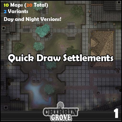 Chibbin Groves: Quick Draw Settlements 1