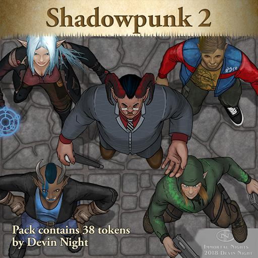 Devin Token Pack 103: Shadowpunk 2