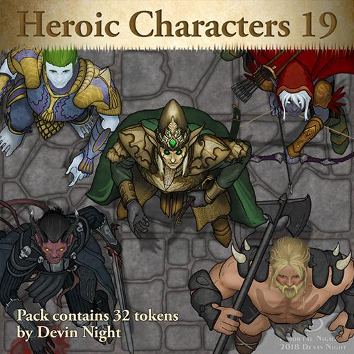 104 - Heroic Characters 19